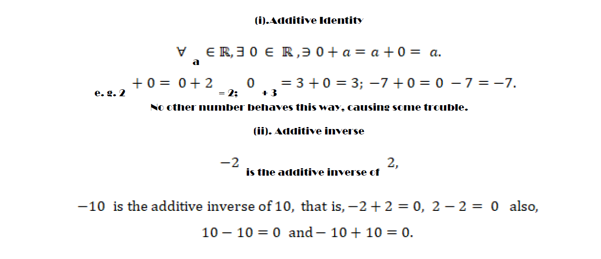 Additive Identity in Mathematics